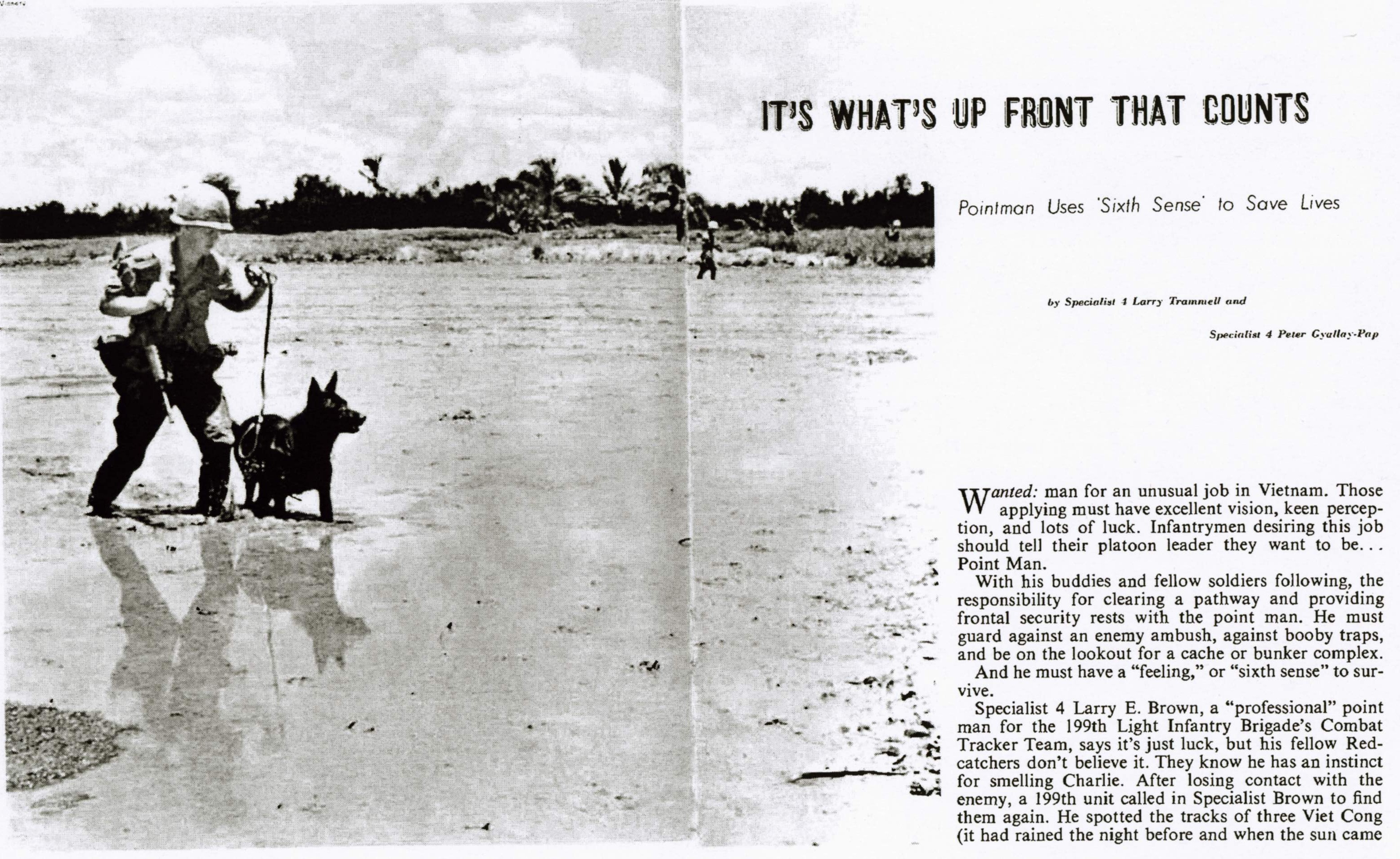 49th Scout Dog, 1968