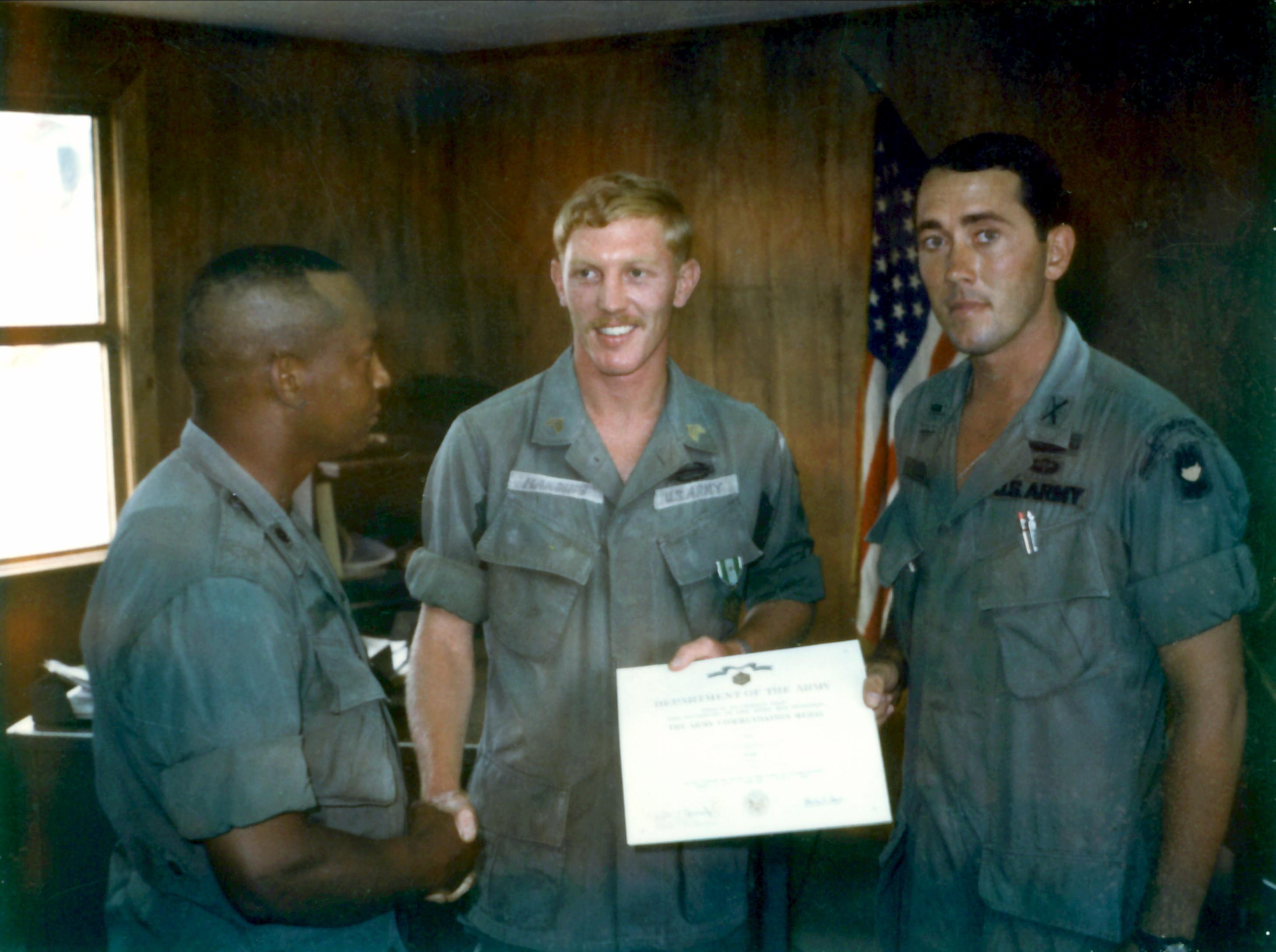 49th IPSD scout dog handler Sgt Bill Har